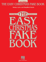 The Easy Christmas Fake Book - 3rd Edition: 100 Songs in the Key of C
