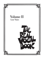 The Real Vocal Book - Volume II: Low Voice