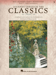 Journey Through the Classics: Book 3 Early Intermediate: Hal Leonard Piano Repertoire