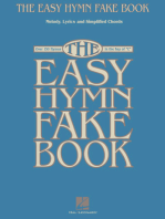The Easy Hymn Fake Book: Over 150 Songs in the Key of C