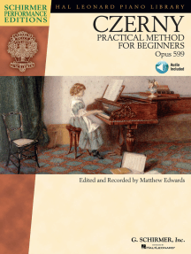 Carl Czerny - Practical Method for Beginners, Op. 599: With Online Audio of Performance Tracks