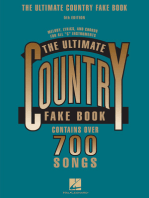 The Ultimate Country Fake Book - 5th Edition: C Instruments