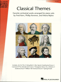 Classical Themes - Level 5 (Songbook): Hal Leonard Student Piano Library