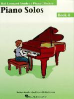 Piano Solos Book 4