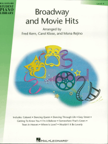 Broadway and Movie Hits - Level 4: Hal Leonard Student Piano Library