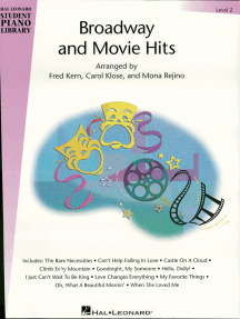 Broadway and Movie Hits - Level 2 (Songbook): Hal Leonard Student Piano Library