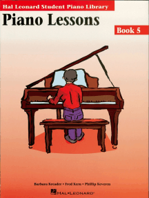 Piano Lessons Book 5: Hal Leonard Student Piano Library