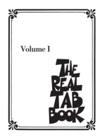 The Real Tab Book - Volume I: Guitar