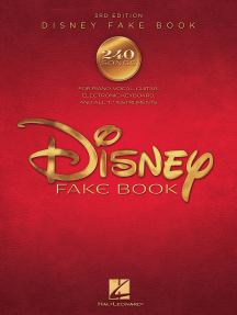 The Disney Fake Book (Songbook)
