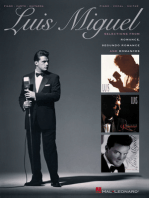 Luis Miguel - Selections from Romance, Segundo Romance, and Romances