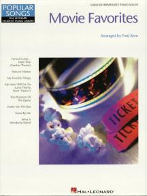 Movie Favorites (Songbook): Hal Leonard Student Piano Library Popular Songs Series