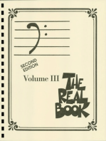 The Real Book - Volume III: Bass Clef Edition