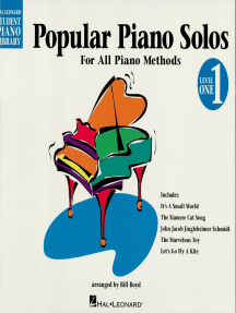 Popular Piano Solos - Level 1 - 2nd Edition: Hal Leonard Student Piano Library For All Piano Methods