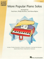 More Popular Piano Solos - Level 3: Hal Leonard Student Piano Library