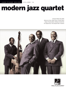 Modern Jazz Quartet: Jazz Piano Solos Series Volume 18