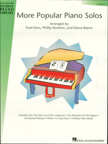 More Popular Piano Solos - Level 4 (Songbook): Hal Leonard Student Piano Library