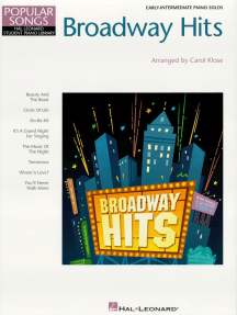 Broadway Hits: Hal Leonard Student Piano Library Popular Songs Series