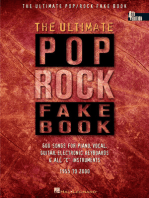 The Ultimate Pop/Rock Fake Book - 4th Edition: C Edition