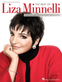 The Best of Liza Minnelli: Original Keys for Singers