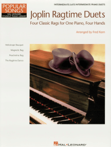 Joplin Ragtime Duets: NFMC 2020-2024 Selection Hal Leonard Student Piano Library Intermediate - Level 5 1 Piano, 4 Hands