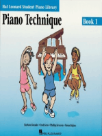 Piano Technique Book 1