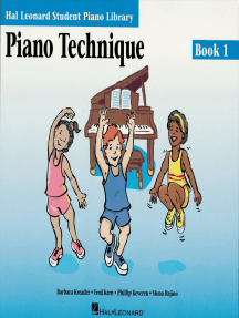 Piano Technique Book 1: Hal Leonard Student Piano Library