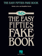 The Easy Fifties Fake Book