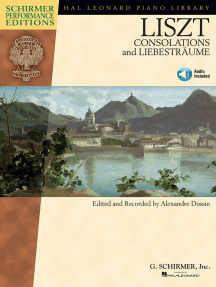 Franz Liszt - Consolations and Liebesträume: With Online Audio of performances Book/Online Audio