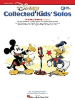 Disney Collected Kids' Solos: With companion recorded accompaniments online
