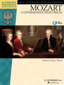 Mozart - 15 Intermediate Piano Pieces