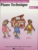 Piano Technique Book 2: Hal Leonard Student Piano Library
