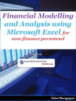 Financial Modelling and Analysis Using Microsoft Excel - For Non Finance Personnel