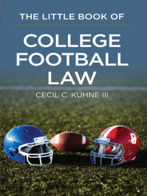 The Little Book of College Football Law