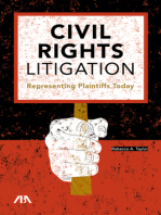 Civil Rights Litigation: Representing Plaintiffs Today