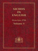 Sichos In English, Volume 5