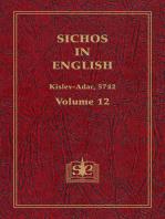 Sichos In English, Volume 12