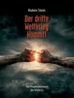Der dritte Weltkrieg kommt!: Die Prophezeiungen der Maria S.