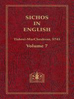 Sichos In English, Volume 7
