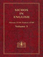 Sichos In English, Volume 3