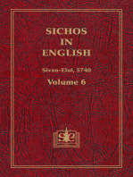 Sichos In English, Volume 6