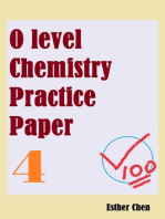 O level Chemistry Practice Papers 4