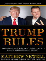 Trump Rules: The 8 Most Frickin' Bigly Investments I Made with Donald Trump