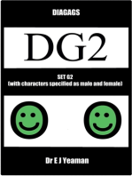 Diagags Set G2 (with Characters Specified as Male and Female)