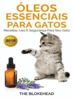 Óleos Essenciais para Gatos