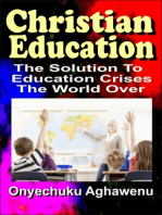 Christian Education The Solution To Education Crises The World Over