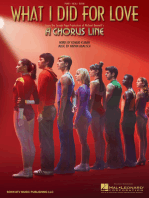 What I Did For Love (From 'A Chorus Line')