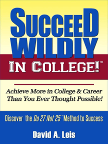 Succeed Wildly in College