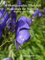 50 Homeopathic First-Aid Medicines for Animals