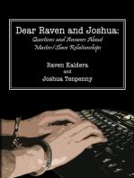 Dear Raven and Joshua