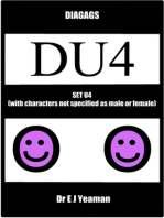 Diagags Set U4 (with Characters Not Specified as Male and Female)